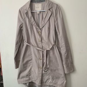 Free people trench coat/ light weight jacket